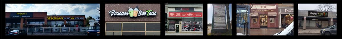 Exterior Sign Samples for Simcoe County, Ontario